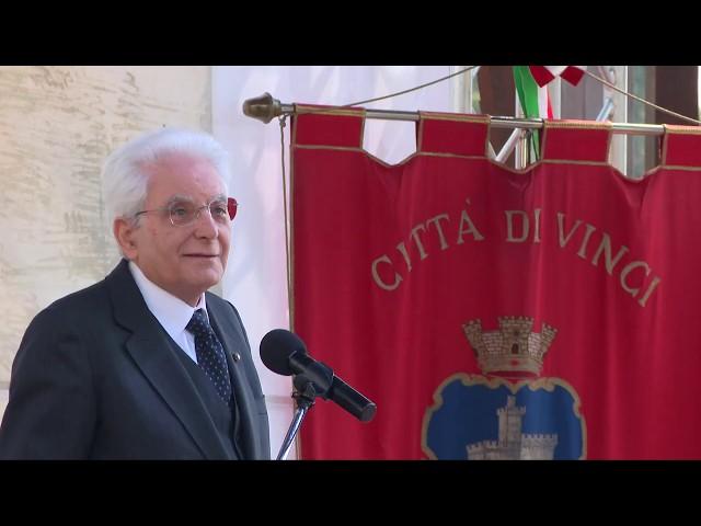 Leonardo 2019, a Vinci arriva anche il Presidente della Repubblica