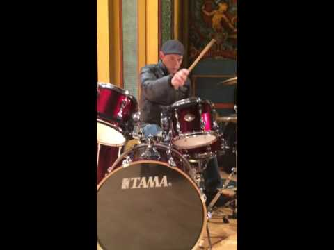 BURN GORMAN ON DRUMS