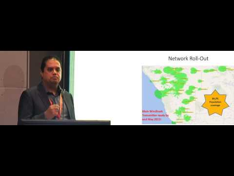 Alferd Dreyer - Namibian Broadcasting Corporation at Submarine Networks World Africa