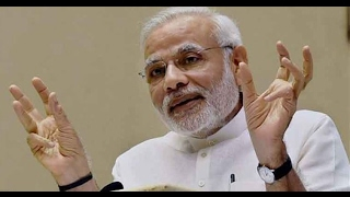 Now Narendra Modi has his finger on India