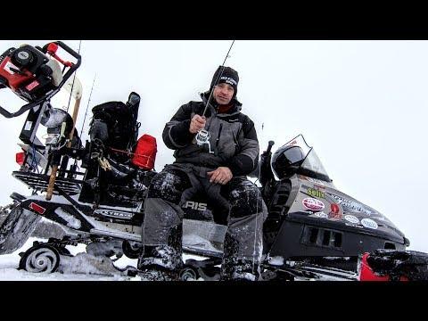 Make Your Snowmobile A FISHING MACHINE!!!