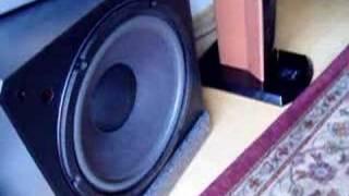 18 inch Velodyne Subwoofer and Matrix Revolutions Bass