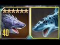 MEGALODON Vs MEGALODON - Jurassic World The Game Vs Jurassic Park Builder