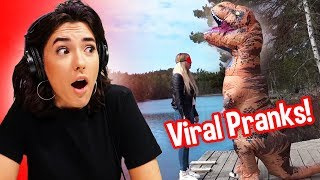 Reacting To Pranks That Should Go Viral!
