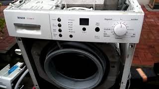 Bosch Dishwasher E15 Error Code Reset