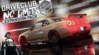 JDM в Driveclub! No Limits - Дрифт на Honda Civic? ЛОЛ! PS4 + руль Fanatec ClubSport