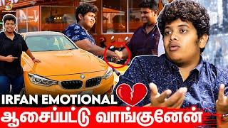 சரக்கடிச்சுட்டு பிரச்சனை பண்ணாங்க: Irfan Emotional Interview | Bumblebee Car, Food Review Tamil
