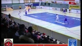 Bottrop Fußball-Hallenstadtmeisterschaft 2015 Halbfinale Dostlukspor vs Rhenania