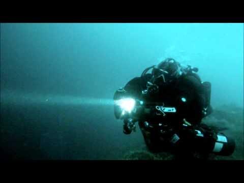 80 meters deep...