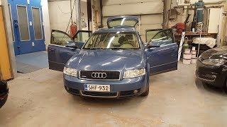 Audi a4 2,5TDI Quattro Типа обзор своего авто!!!