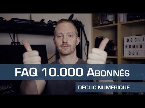 FAQ 10.000 Abonnés