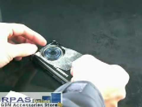 Back Protector Skin for SAMSUNG M8800 Pixon
