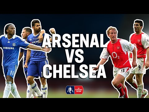 Arsenal vs Chelsea | Four FA Cup Classic Matches | From The Archive