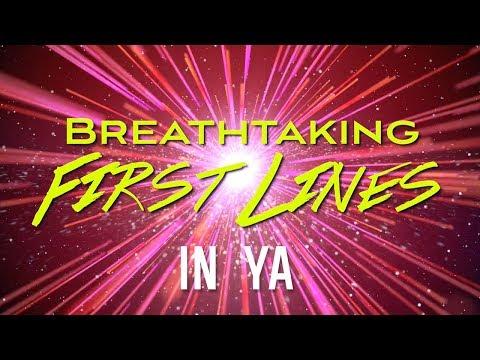 Breathtaking First Lines in YA