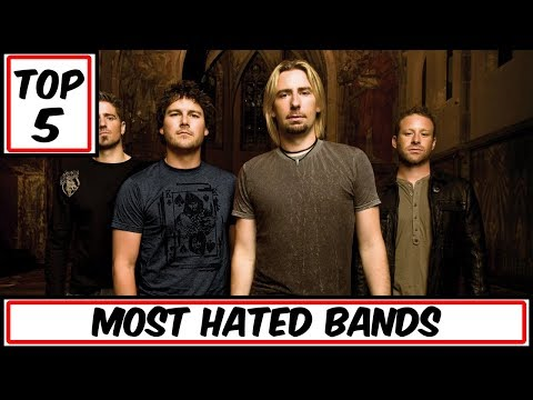 Top 5 Most Hated Bands In History