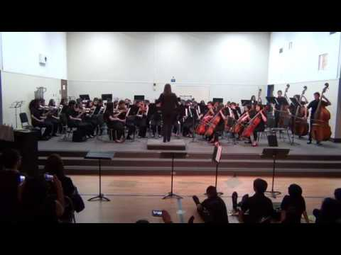 The Sierramont Middle School. Advanced Orchestra. May 2018