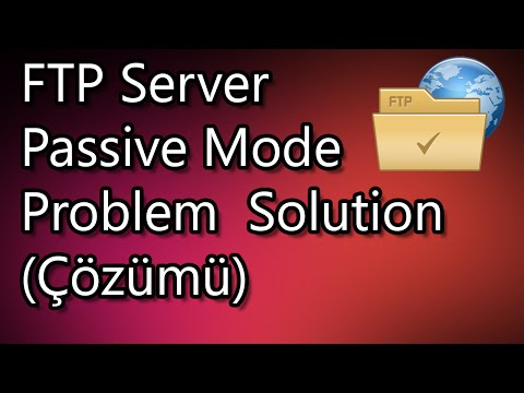 FTP Server Passive Mode Problem Solution