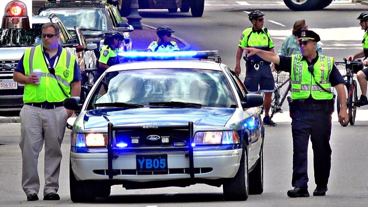 Boston Police Car Ford Crown Victoria Interceptor