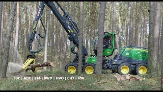John Deere 1170G IBC - Demo with News in Germany