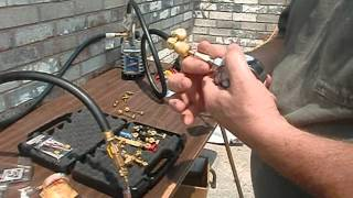 C & D Valve Core Remover (Appion follow Up) ... Deep Vacuum ... HVAC Louisville Kentucky
