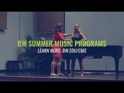 Jennifer Rowley at BW Voice & Opera Intensive