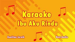 Karaoke Ibu Aku Rindu Versi Zaujati - Cover Bang Uje