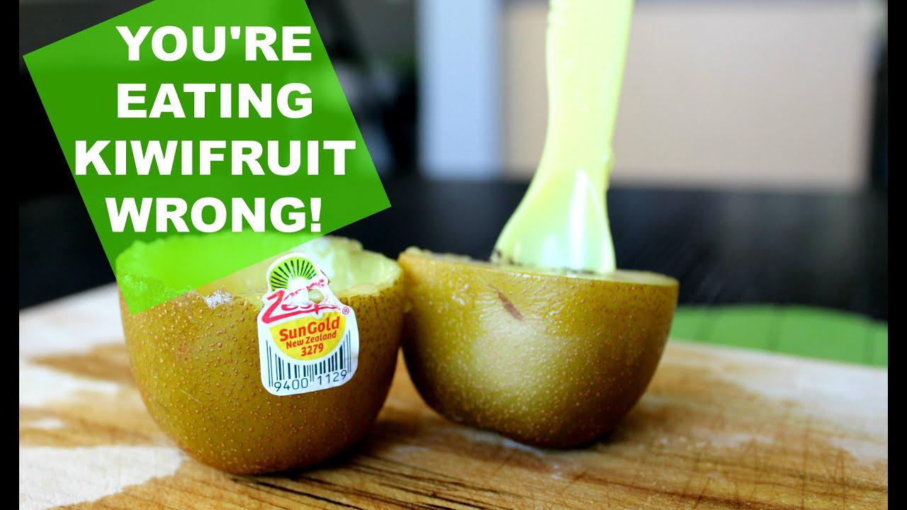 You're Eating Kiwifruit Wrong!
