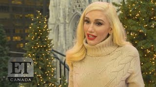 Gwen Stefani At The Rockefeller Tree Lighting