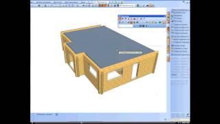 Программа для проектирования домов Sema(http://proekt-sam.ru/proektprogramms/sema-programma-dlya-proektirovaniya-derevyannyx-domov.html - как работать в программе для проектирования ..., 2014-01-28T10:34:14.000Z)