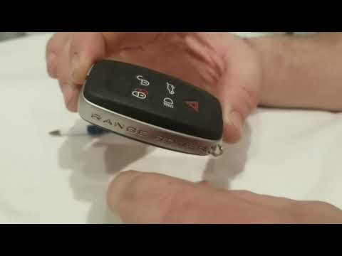 Repeat How to replace keyfob battery on a Land Rover Range