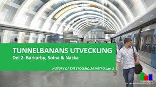 Nya tunnelbanan: Utbyggnad till Barkarby, Nacka och Gul linje