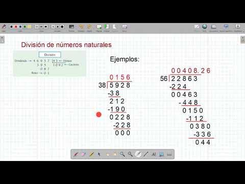 Matematica Basica - Division de Numeros Decimales from YouTube · Duration:  4 minutes 59 seconds