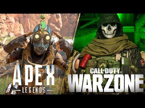 ¡APEX LEGENDS VS COD: WARZONE! COMPARACIÓN