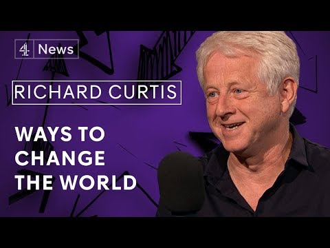Richard Curtis on the future of charity, his films and optimism
