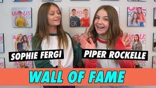 Piper Rockelle Vs Sophie Fergi Wall Of Fame Youtube