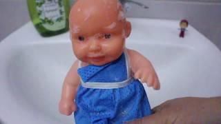 Bebek Bakım Videosu Bebeği Banyo Yaptırıyoruz Eğitici Videolar