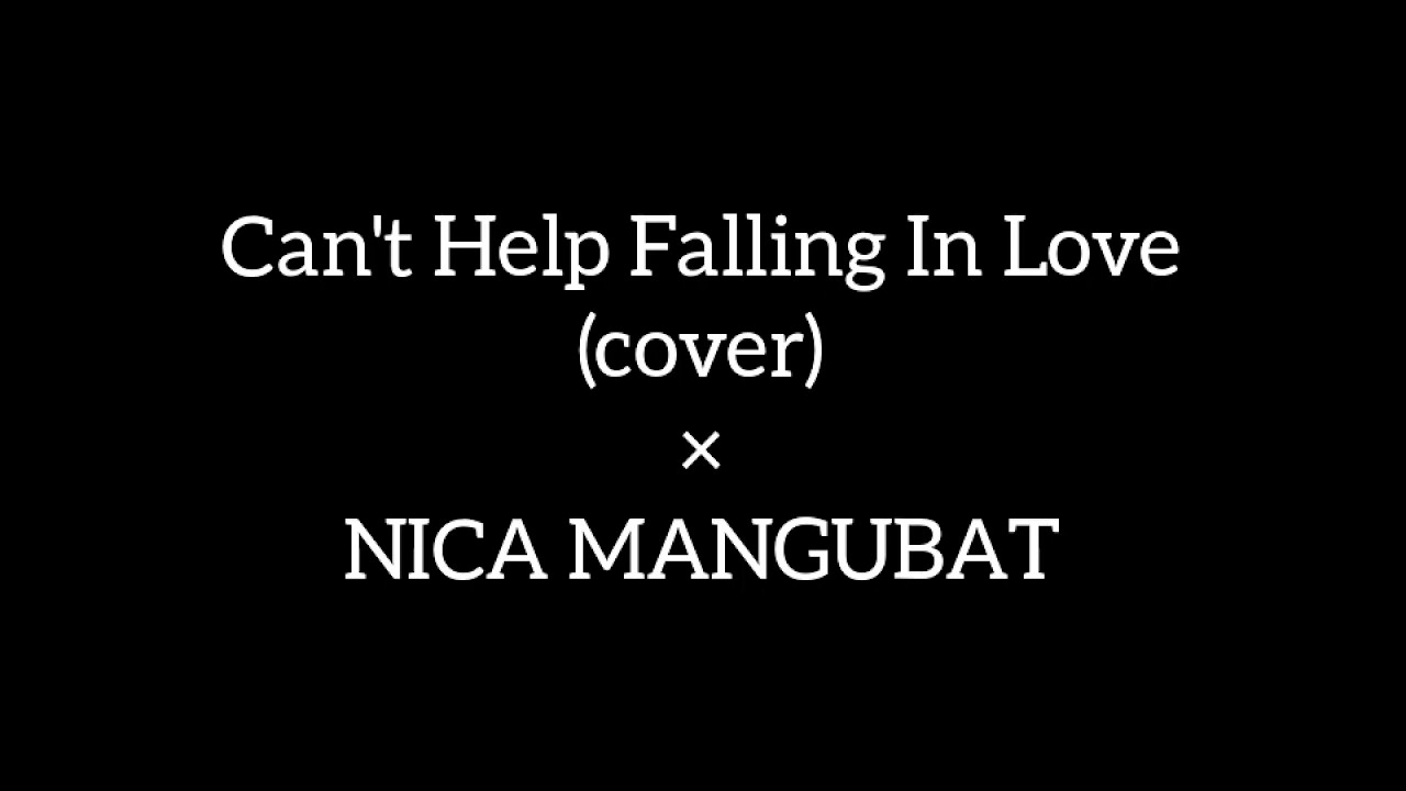 Can 39 T Help Falling In Love Cover Youtube