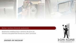 Usługi kominiarskie kominiarz przeglądy okresowe budynków Łódź Domi-Komin