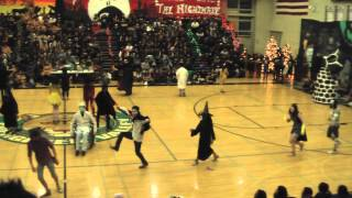 NIGHTMARE BEFORE CHRISTMAS - Junior Skit - EVHS Battle of the Classes 2012