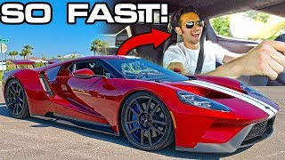 We BOUGHT a 2019 FORD GT; it's INCREDIBLE! *FIRST DRIVE*