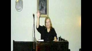 Singing Oh how I love that man--by Sis. Brenda Staggs