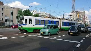 福井鉄道 770形772+773号 福井駅前〜福井城址大名町