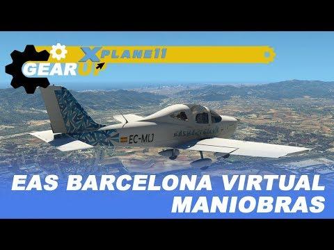 EAS Barcelona Virtual | Episodio 3 | Vuelo Local y Maniobras