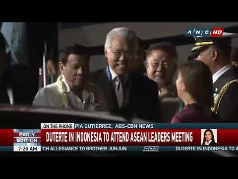 Quake rocks Bali as Duterte, world leaders gather