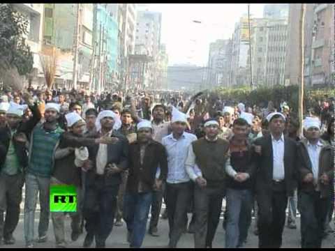 Stock market plunge sparks violent protests in Bangladesh