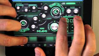 iPad Music App Korg Gadget Miami