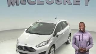 R98519TR Used 2017 Ford Fiesta SE FWD 4D Hatchback Silver Test Drive, Review, For Sale -
