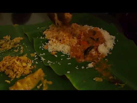 インドカレーの食べ方・How to eat curry
