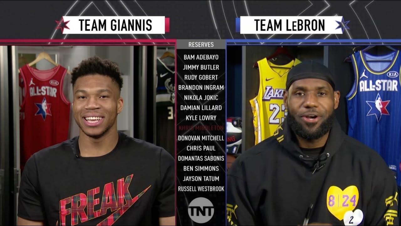 Team LeBron vs. Team Giannis | 2020 NBA All-Star Game ...