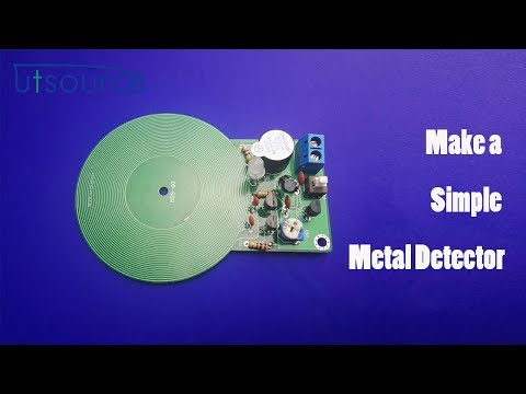 How to make a simple metal detector?